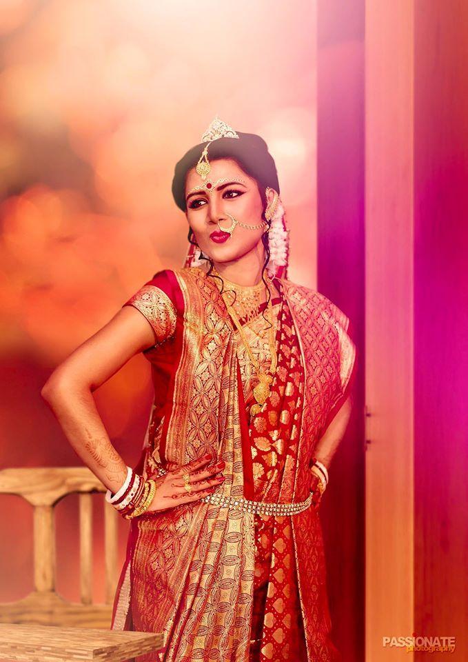 Bengali bride, bengali wedding, saree
