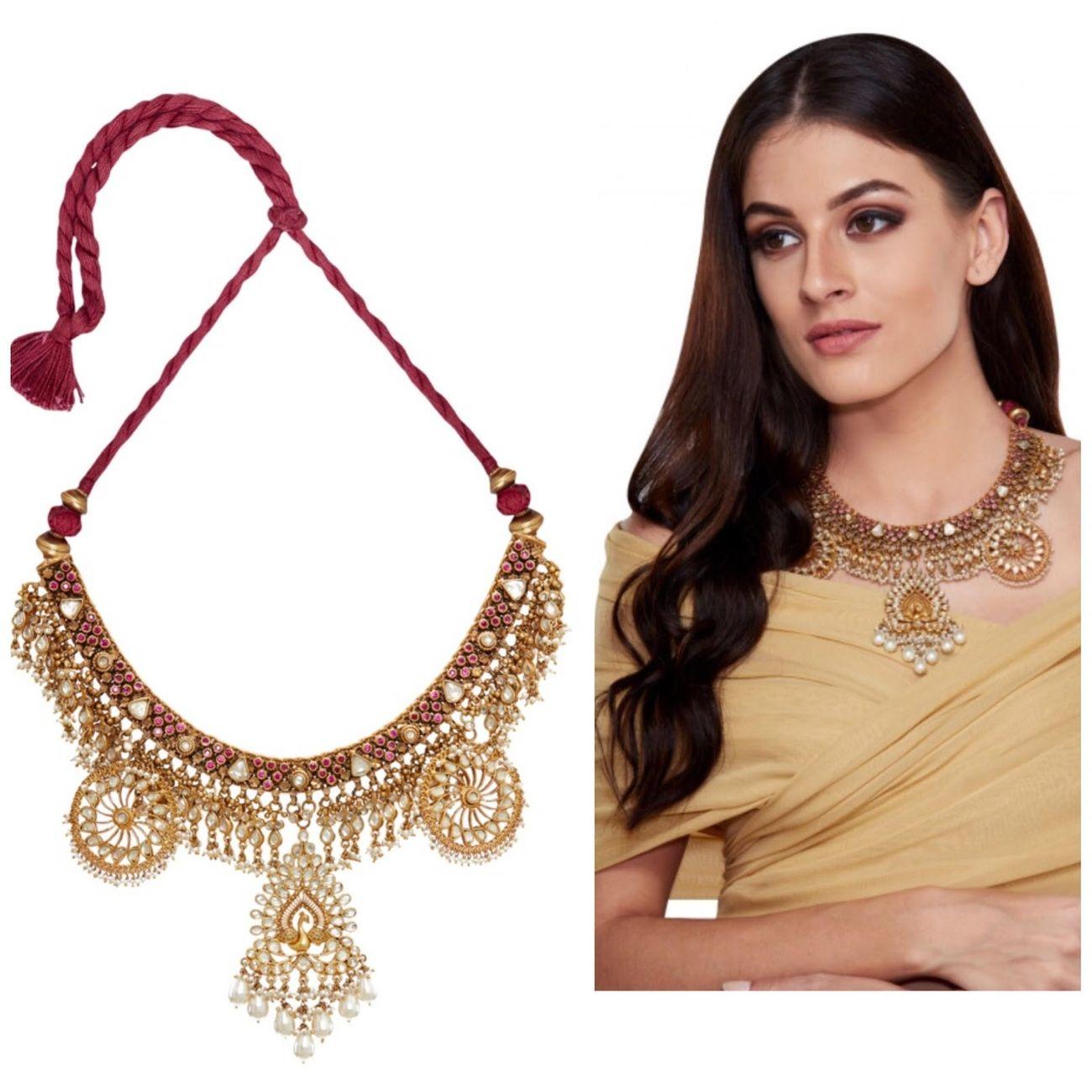 Artifical designer necklace