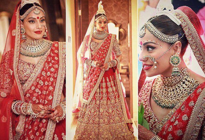 Bipasha Basu, Wedding, Bengali bride, jewellery