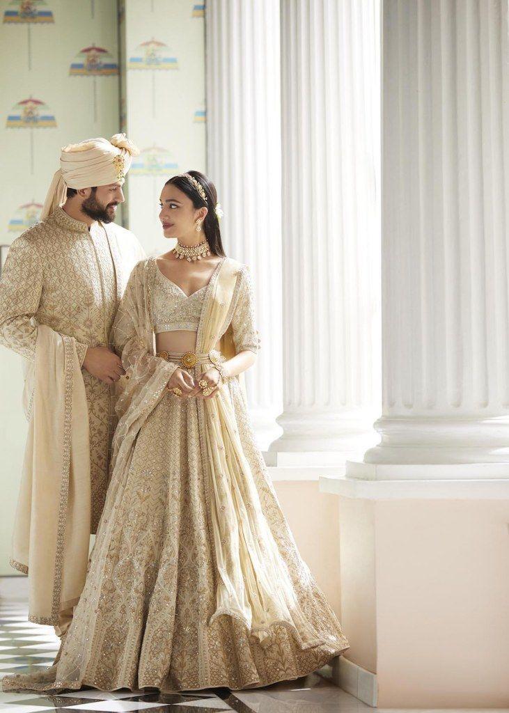 Gold sherwani for groom