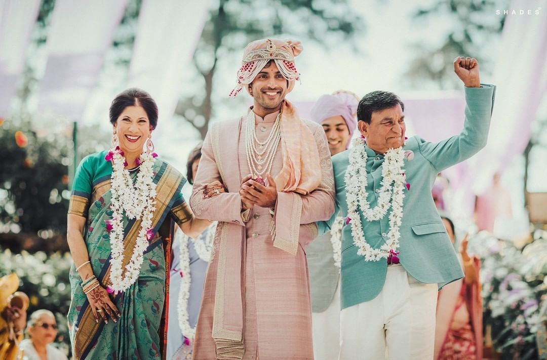 blush pink for grooms