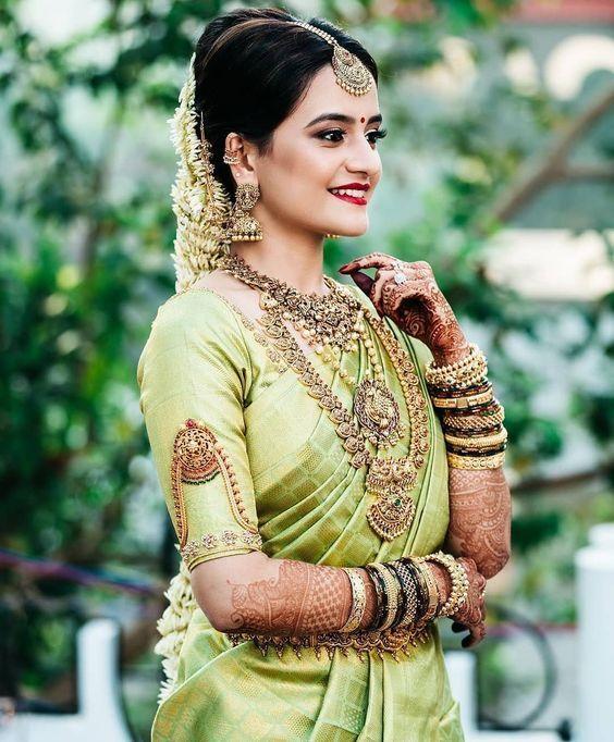 South Indian Bridal Vanki Designs