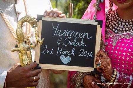 A Chandigarh wedding with a heart warming story: Yasmeen & Sidak