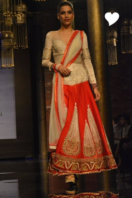 JJ Valaya at India Bridal Fashion Week 2014