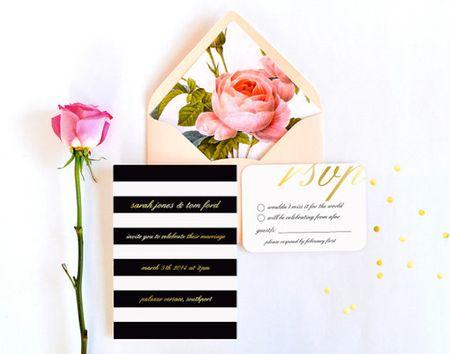Invitation Thursday: The Envelope Liner !