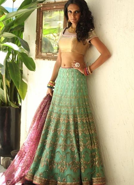 Bridal Lehenga 2013 Trends: Whats Hot & Whats Not !