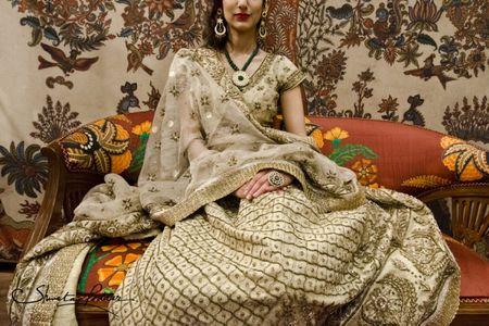 Ritu Kumar Bridal Shoot : WMG Red Carpet  Bride Rupinder !