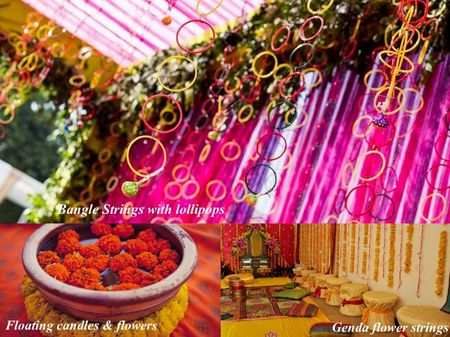 DIY decor ideas for your Mehendi! (Three cheap, chic & effortless themes!)
