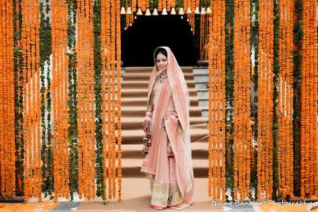 A Pastel Infused Delhi Wedding  with a DIY Bride