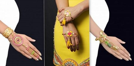 Offbeat Statement  Jewelry for the next wedding you attend !