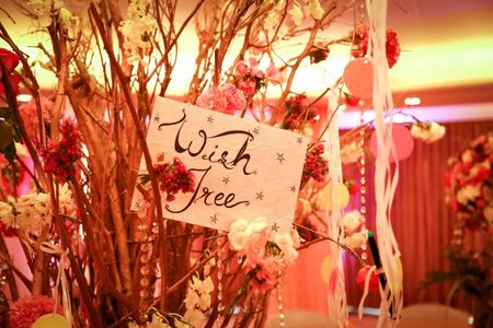 'Wishing Tree' Ideas for your Reception / Engagement !