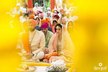 An elegant , intimate morning affair in the heart of Delhi