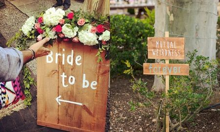 Trending: Wedding Signage that adds your personal touch