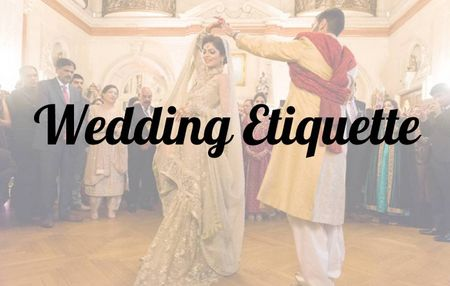 Wedding Etiquette: What do you think of a 'No Stage' Reception Setup?