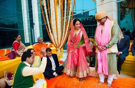 A quaint, private wedding in Delhi!
