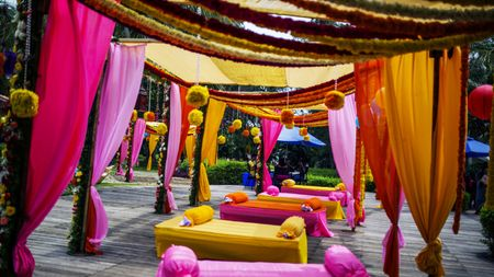 Wedding in Mahabalipuram with gorgeous decor !