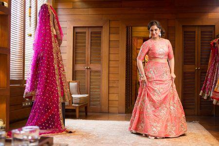 WMG Red Carpet Bride at Ensemble : The coral summer bride