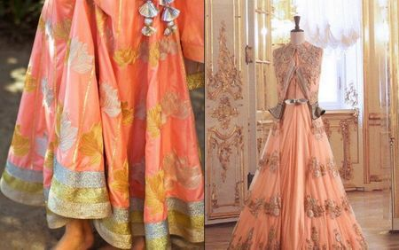 Trending on the gallery: Peach Wedding outfits