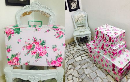 Packing your trousseau: From handpainted trunks to outfit covers