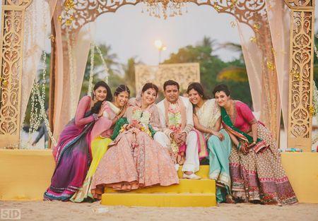 Stunning beachside wedding in Goa