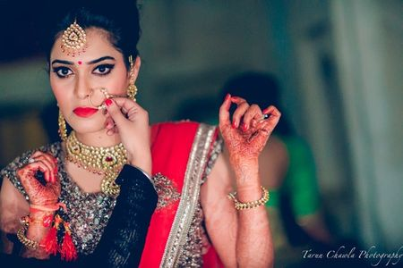 #Lipstick-Ready On Your Wedding Week: How To Make Your Lipstick Last Longer!