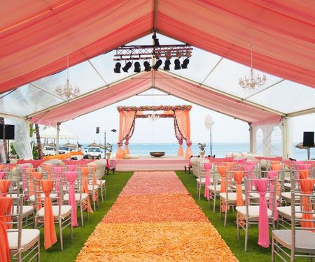 Mauritius wedding with absolutely stunning decor