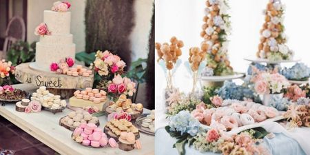 Dessert Table Display Is A Must-Have At Your Modern Home Wedding. Bookmark These Ideas!