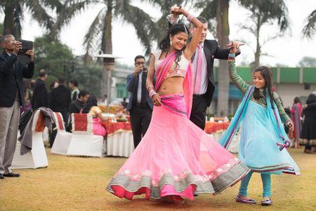 Simple, fun filled wedding in Delhi