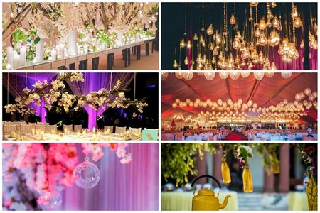 20 Best Hangings At Real Weddings: From Kites to Kettles And All Things Wonderful!