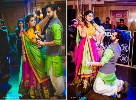 Real brides reveal: How they color co-ordinated with the groom !