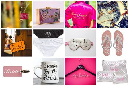 20 Super Cute Personalised Items for every Bride to own during her wedding
