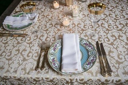Elegant Decorator-Approved Table Settings For The Classy Indian Bride!