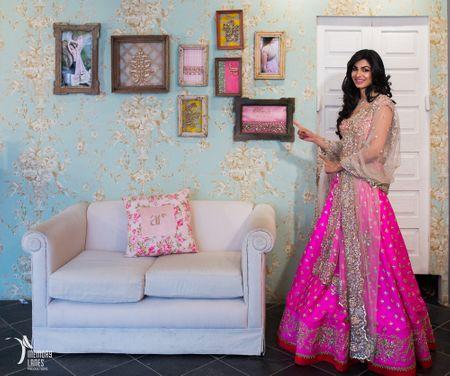 Red Carpet Bride With Platinum Evara and Anushree Reddy: Pretty Pink Bride!