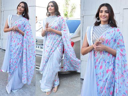 #Trending: Is This The Best Sari Trend That Sonam Kapoor Gave Us in 2016?