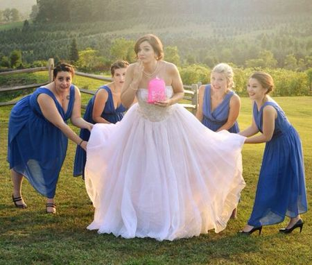New Bridal Invention That Tackles The Big Problem: How To Use The Bathroom Without Help!