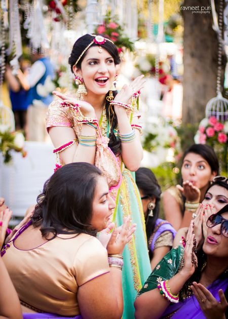 Elegant Wedding With a Super Gorgeous Mehendi!