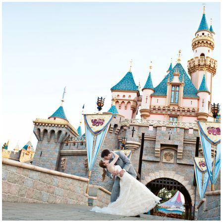 Next Hot Wedding Destination? Disneyland! That's Right!