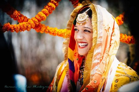 Rustic and Intimate Sikh wedding in Delhi