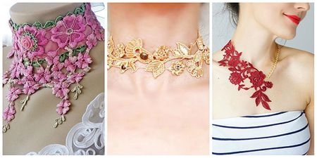#Trending: Lace Chokers For Your Mehendi. Would You Try?