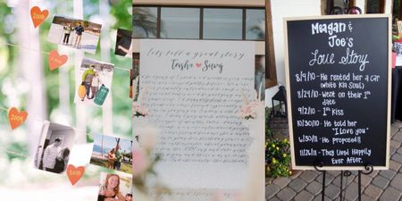 Love Story Timelines, A DIY Decor Piece You Must Have At Your Intimate Wedding!