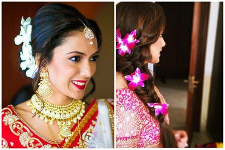 How To Wear Flowers On Your Hair For That Perfect Bridal Look!