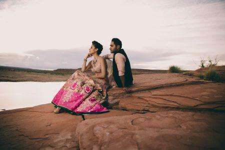 Stunning India - Pak Wedding with a Breathtaking Pre Wedding Shoot