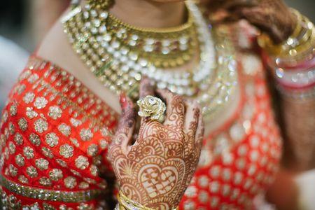 Glam Punjabi Wedding With a Kitschy Cool Mehendi!