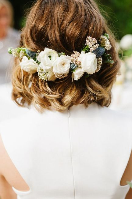 Short Hair Dont Care? Bridal Hairstyles For Short to Mid Length Hair !