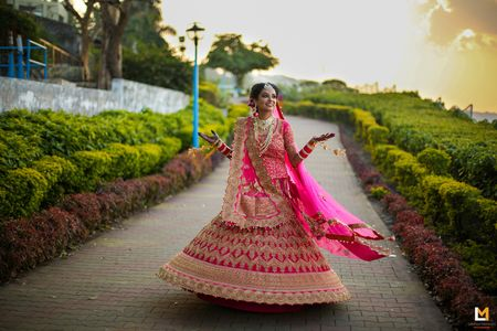 A Destination Wedding in Bhopal With a Splash of Pink