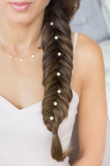 Pretty Ways Of Wearing Pearls In Your Wedding Hairstyles!