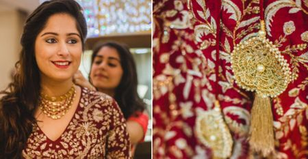 Red Carpet Bride at Zoya Jewels: Marooned With Delight!