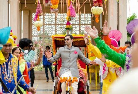 12 Amazing Groom Entry Ideas For Modern Indian Weddings!
