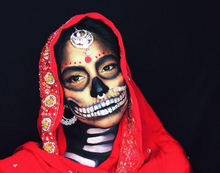 A Desi Halloween Bride? #BadBeti is BadA**!