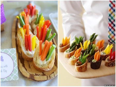 The Most Unique Food Display Ideas For Your Wedding!